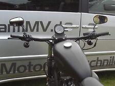 bMV Drag Bar 910 x 1 Zoll SCHWARZ Lenker Motorrad ABE TÜV Chopper Bopper Cruiser