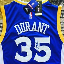 Kevin Durant Signed Autograph Golden State Warriors Jersey NBA USA PROOF