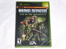 NEW Marvel Nemesis Rise of the Imperfects XBox Game SEALED marval US NTSC