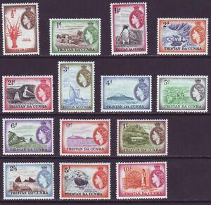 Tristan da Cunha 1954 SC 14-279 MH Set