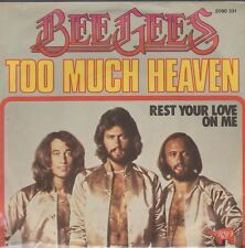 """7"""" Bee Gees Too Much Heaven / Rest Your Love On Me 70`s RSO Polydor"""