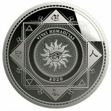 VIVAT HUMANITAS 2020 - $5 Dollars TOKELAU 2020 1 oz Silver Bullion coin