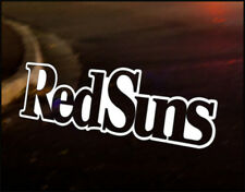 REDSUNS INITIAL D red suns Car Decal Vinyl Vehicle Bumper Sticker JDM Funny
