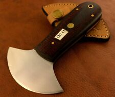 Handmade High Carbon Steel Leather Cutter-Skiving Tool-Sheath -QC13