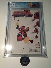 Deadpool #7 CGC 9.8 Skottie Young Variant, Marvel Comics, Retired Deadpool Label