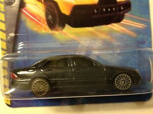 1/64-scale MERCEDES-BENZ S-CLASS metallic gray new unused sealed pack LICENSED