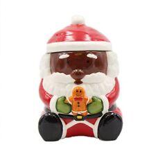 African American Santa Cookie Jar