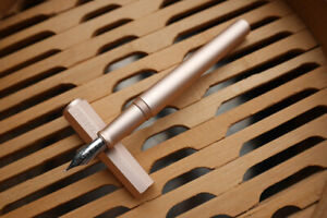 PENBBS Model 350 Aluminum Alloy Fountain Pen - 100SF Autumn Wind