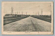 Nieuwe Laan EIJSDEN Belgium Limburg Antique Postcard CPA AK Postcard 1910s