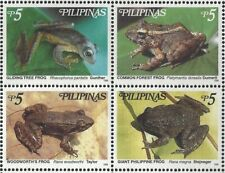 Philippines #2612 MNH Block CV$3.00 Endemic Frogs (For Sheet: 233558693686)