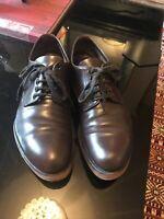 Prada - Mens Shoes Brown Brogues -size 8 Rubber Soles