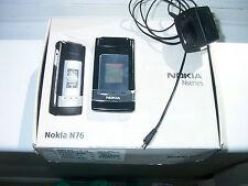 Raro Nokia Nseries, Nokia N76, Caja-Funcionando