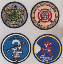 lot of four Military patches 2