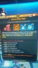 borderlands 3 (ps4) Modded zane class mods -x5 pack- level 60(S.J Mods)100% Cryo
