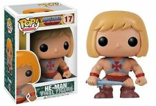 FUNKO POP TELEVISION MASTERS OF THE UNIVERSE #17 HE-MAN~RARE RETIRED VINYL !!!