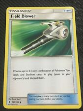 Pokemon : SM GUARDIANS RISING 4 X FIELD BLOWER 125/145 UNCOMMON