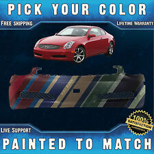 New Painted to Match- Front Bumper Cover Fascia For 2003-2007 Infiniti G35 Coupe