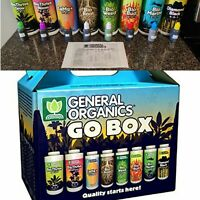 General Hydroponics General Organics GO Box - 1oz bottles