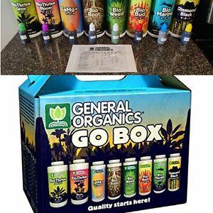 *****1OZ BOTTLES!!****General Hydroponics General Organics GO Box - 1oz bottles