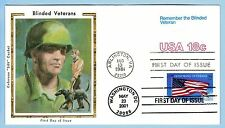 Colorano 3508 #7 Honoring Veterans Remember Blinded Veteran Dual Arlington Cover