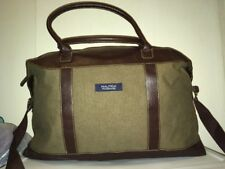 Nautica Fragrance Overnight Travel Duffel Bag Brown