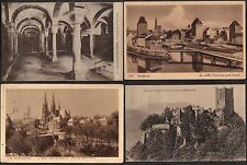 FRANCE - ALSACE / 1920-30 LOT DE 23 CARTES POSTALES / 6 IMAGES  (ref 4838)