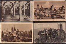 FRANCE - ALSACE / 1920-30 LOT DE 23 CARTES POSTALES / 6 IMAGES  (ref 4838)