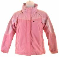 BERGHAUS Girls Windbreaker Jacket 9-10 Years Pink Nylon  X020
