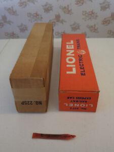 Lionel Train Empty Boxes 6572, 225P, 9062,8701, 8361, 8864, 8851 $2