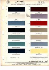 1965 PONTIAC BONNEVILLE TEMPEST GRAND PRIX CATALINA STAR CHIEF PAINT CHIPS DZ3