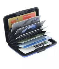 RFID Blocking Wallet Credit Card Holder Cash Aluminum Metal Business ID Men's