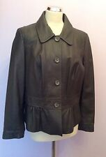 Marks and Spencer Button Leather Coats & Jackets for Women