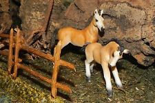 Retired Schleich Tennessee Walker Horse and Foal Nativity Scene Animals