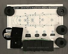 1949 1950 Ford Body to Frame Rubber Mounting Insulator Pad Kit