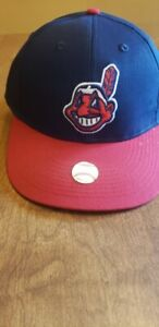 Cleveland Indians Baseball Cap Hat Red Blue Chief Wahoo new with tags fast ship
