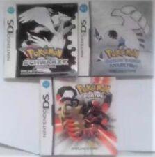 DS Pokemon Silber / Schwarz /Platin Spielanleitungen