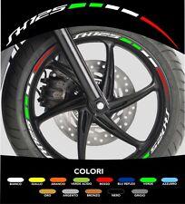 Kit Adesivi Cerchi Moto Ruote SH 125 Tricolore