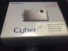 Sony  Cyber-shot DSC-T33 5.1 MP Digital Camera - Silver