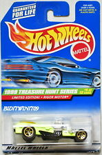 HOT WHEELS 1999 TREASURE HUNT LIMITED EDITION RIGOR MOTOR