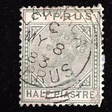 1881 Cyprus Postage Stamp Used