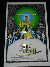 A Slice Of Death 1979 Shaw Brothers Kung Fu Cult Original US Film Movie Poster