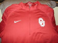 65d0c4b44a51 Oklahoma Sooners Nike Dri-fit Stay Dry 1 2 Zip Golf Hybrid Jacket Men s