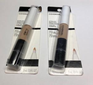 2 Pieces Covergirl Vitalist Healthy Concealer 790 Medium *DAMAGED PACKAGING*