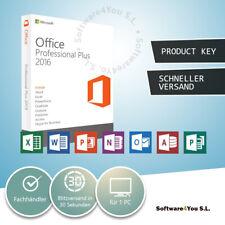 Microsoft Office 2016 Professional Plus MS Pro Word Excel PowerPoint Deutsch