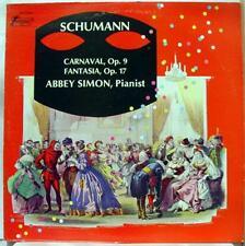 Abbey Simon - Schumann Carnaval / Fantasia LP VG+ TV S 34432 Vox Stereo 1st
