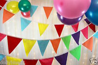 Multi coloured bunting, ideal party, wedding, baby shower,
