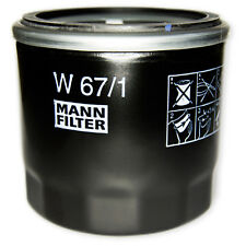 MANN-FILTER - Ölfilter - W 67/1 - Mazda 2,3,Mx-5,Premacy. Nissan Juke ,Micra,Qas