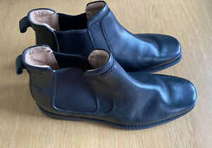 Mens Henley Boots - Size 8 (euro 42) Worn Once - Black