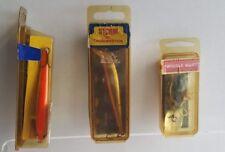 Storm Jr Thunderstick Wiggle Wart Pre Rapala Crankbaits Fishing Lures Tackle Lot