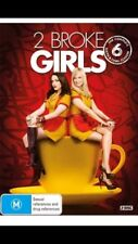 2 Broke Girls : Season 6 (DVD, 2017, 2-Disc Set) Brand New Sealed Region 4